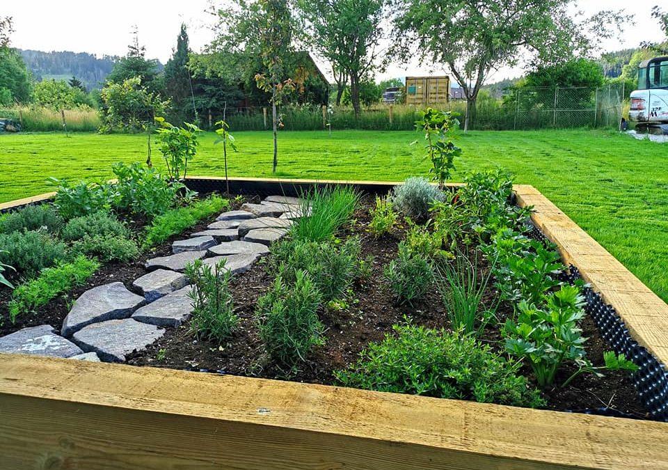 Záhrada pre oddych a bylinky