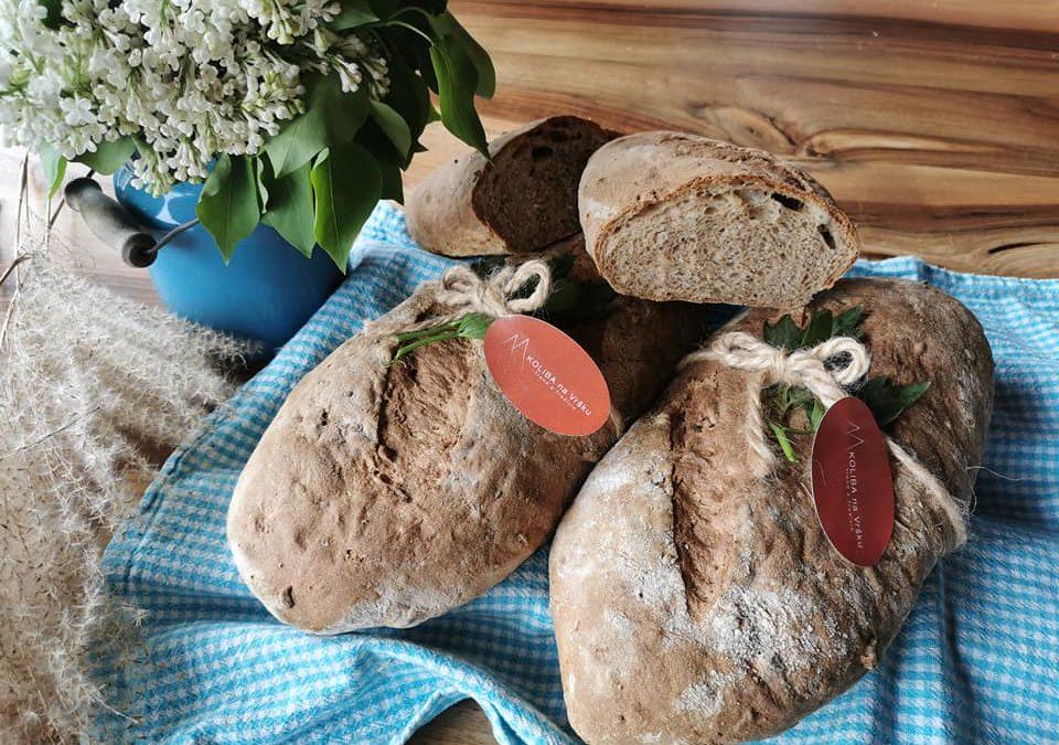 Domáci chlebík z koliby