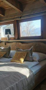 Ubytovanie postele zlatá izba
