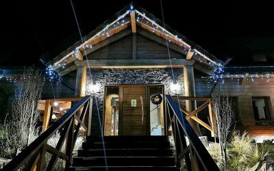 Vianočná terasa s grilom