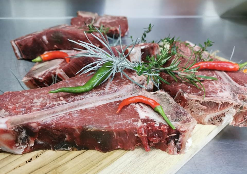 Dry Aged ponuka grill steakov