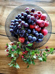 Jesenná výzdoba ovocie 2021